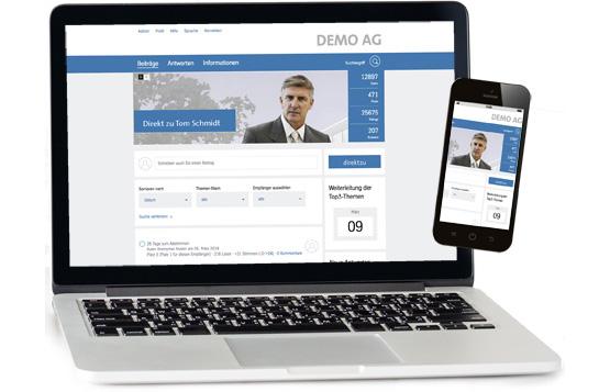 Direktzu Plattform Startseite